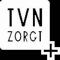 Wit logo TVN Zorgt Nijmegen